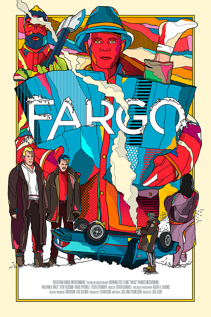 "Van Orton Design - ""Fargo"" - Spoke Art"