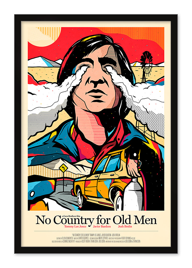 "Van Orton Design - ""No Country for Old Men"" - Spoke Art"