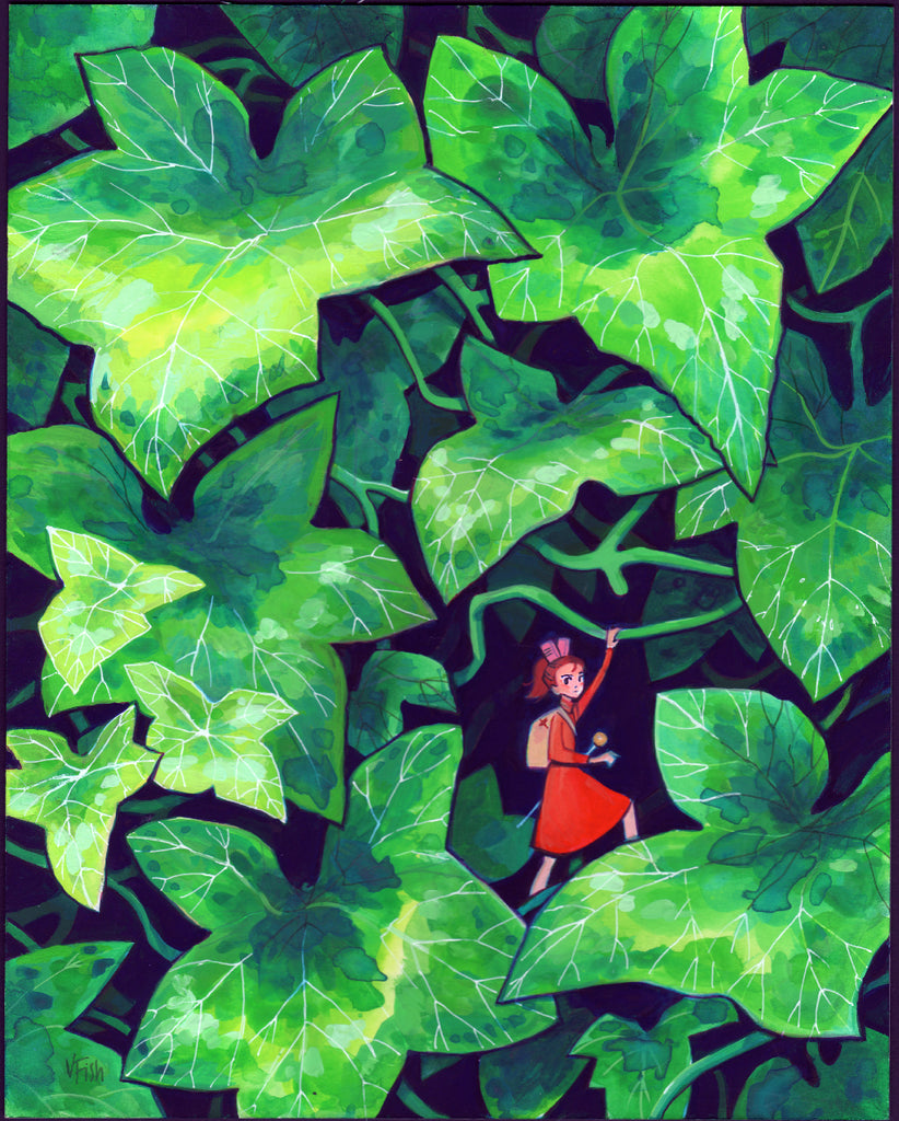 "Veronica Fish - ""Arrietty in the Ivy"" - Spoke Art"