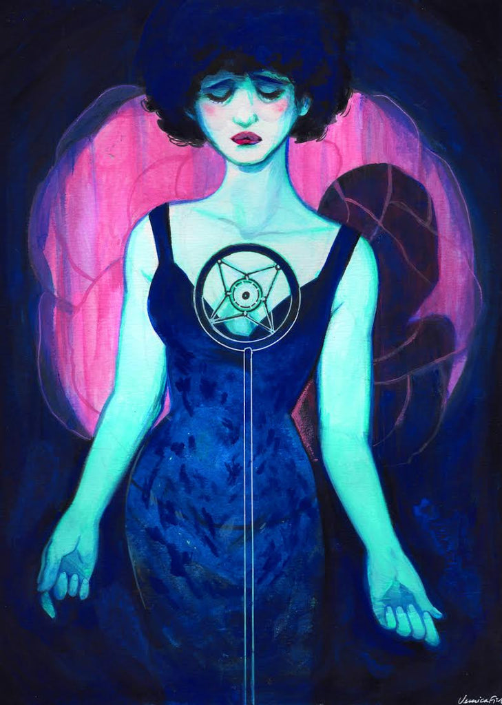 "Veronica Fish - ""Dorothy in Blue Velvet"" - Spoke Art"