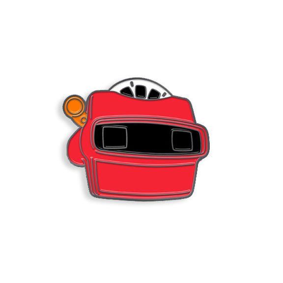 View-Master Enamel Pin