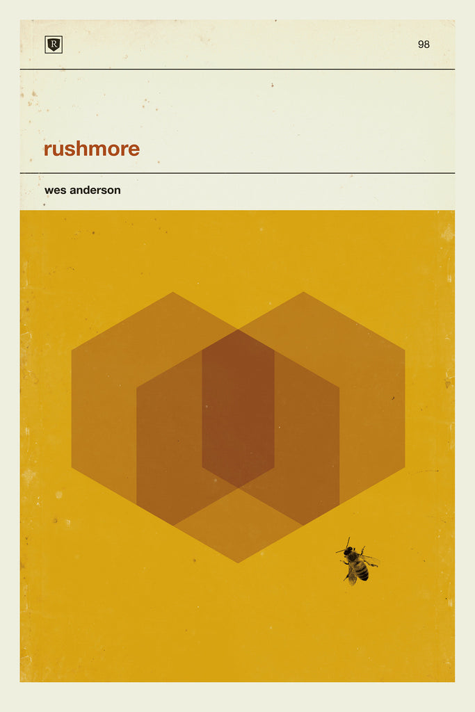 "Concepción Studios - ""Wes Anderson Art Print Movie Poster Series"" (Rushmore)"