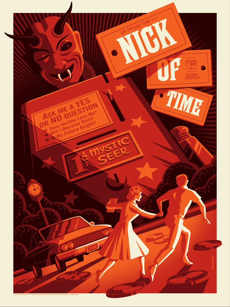 "Tom Whalen - ""Nick of Time"" - The Twilight Zone - Spoke Art"