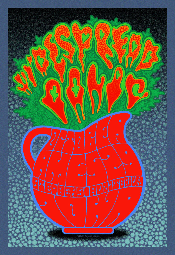 Chuck Sperry - Widespread Panic, Ames, Iowa (Artist Edition)