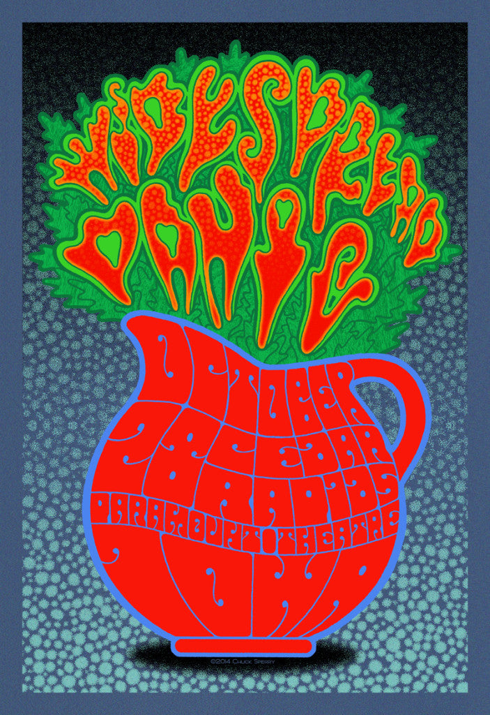 Chuck Sperry - Widespread Panic, Cedar Rapids, Iowa (Artist Edition)
