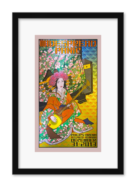 "Chuck Sperry - ""Widespread Panic, Atlanta""(dappled pink edition)"