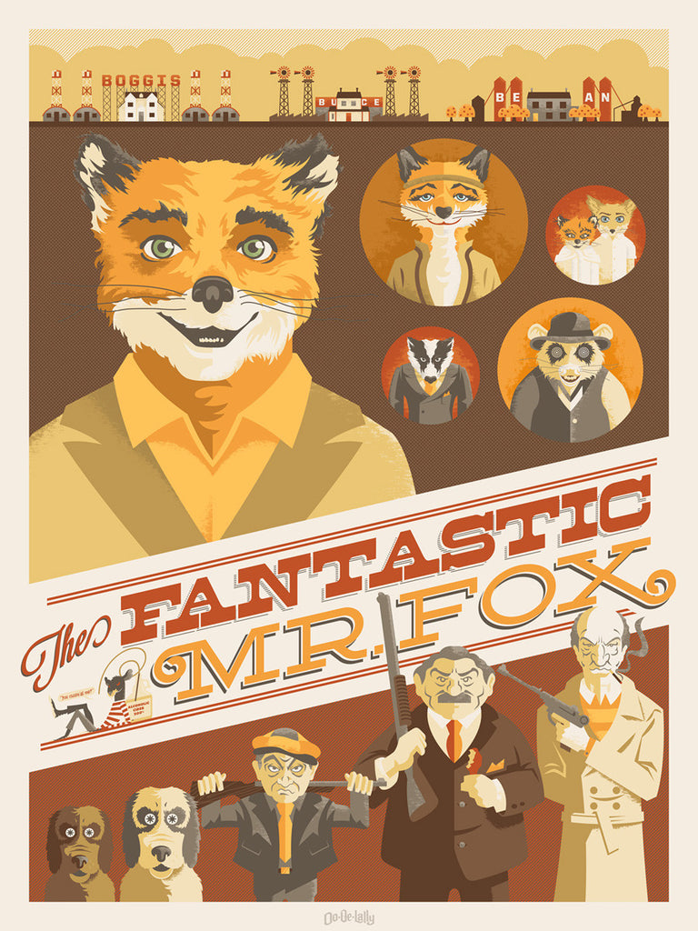 "Jayson Weidel - ""Fantastic Mr. Fox"" - Spoke Art"