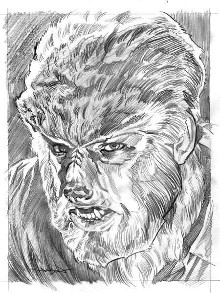 "Jason Edmiston - ""Wolf Man"" preliminary"