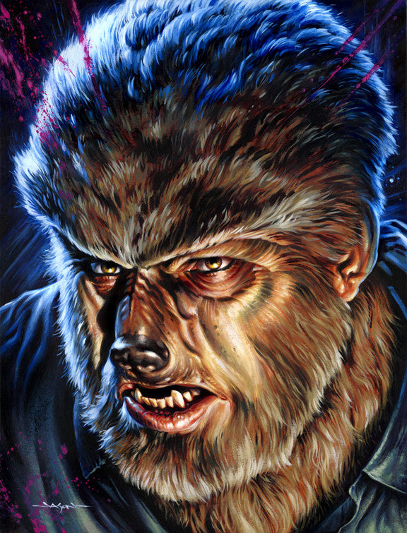 "Jason Edmiston - ""Wolf Man"""