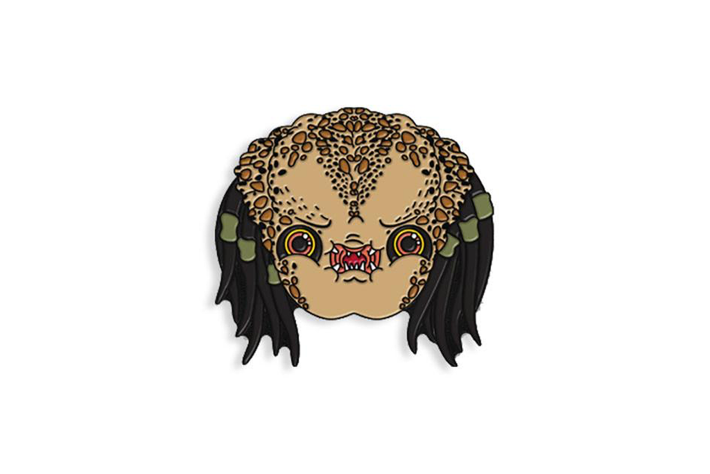 Predator Enamel Pin - Spoke Art
