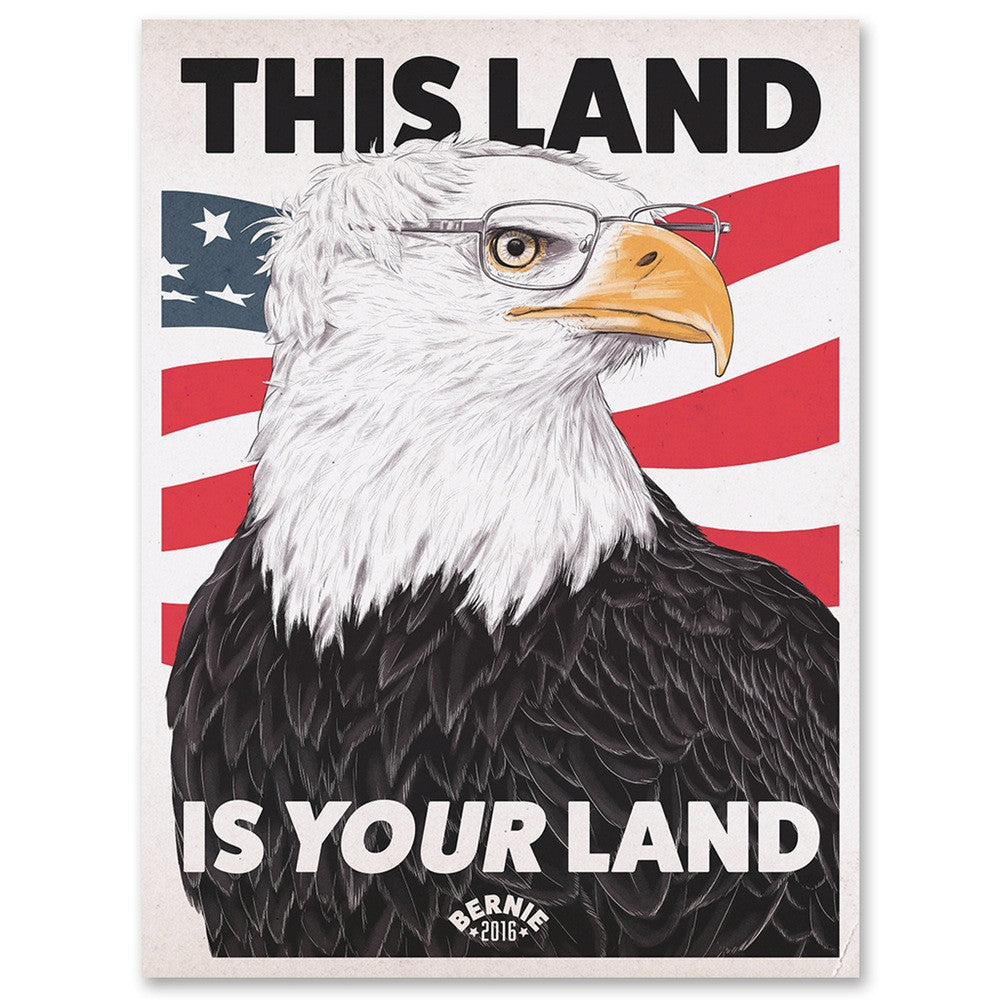 """This Land is Your Land"" poster"