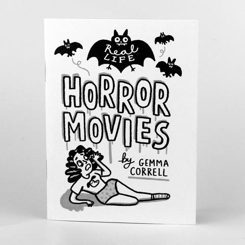 "Gemma Correll - ""Real Life Horror Movies"" Mini Comic Book"