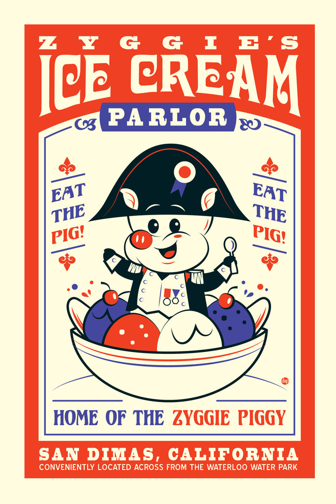 "Dave Perillo - ""Zyggie's Ice Cream"" - Spoke Art"