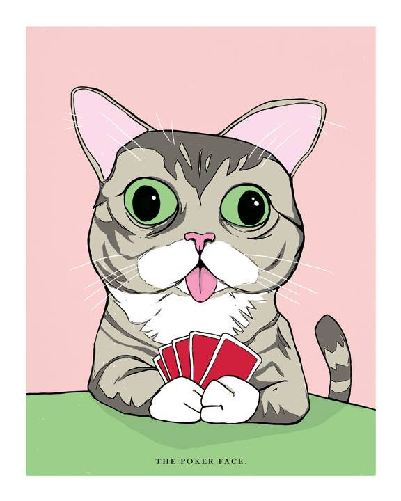 "Isaac Bidwell - ""The Poker Face"" - Spoke Art"