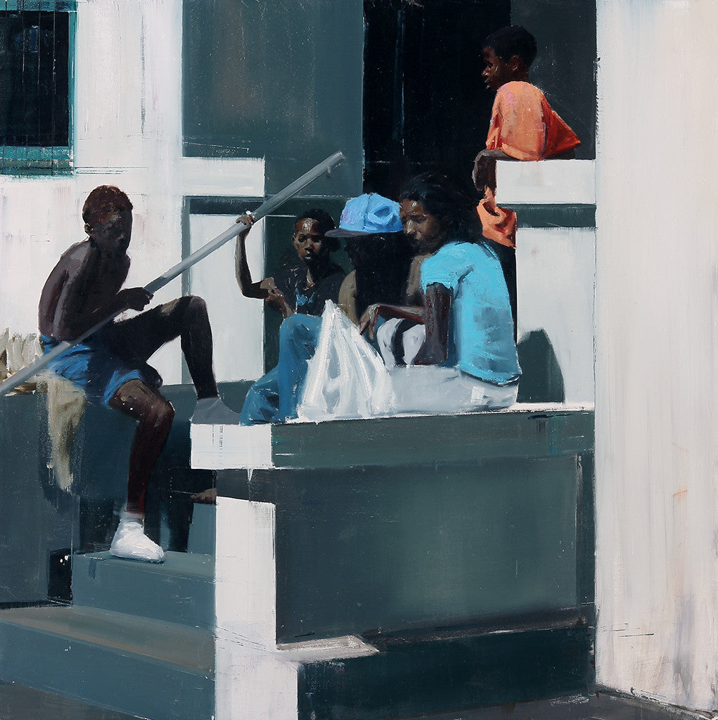 "Brett Amory - ""Waiting #190"""