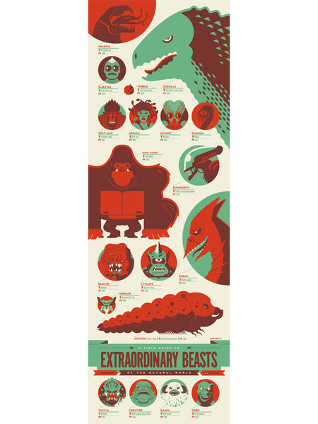 "Tom Whalen - ""Field Guide to Extraordinary Beasts of the Natural World"""