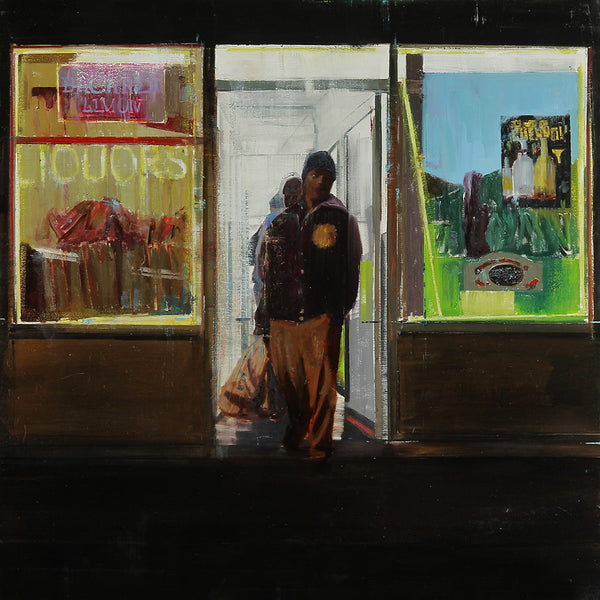 "Brett Amory - ""Waiting #191"""