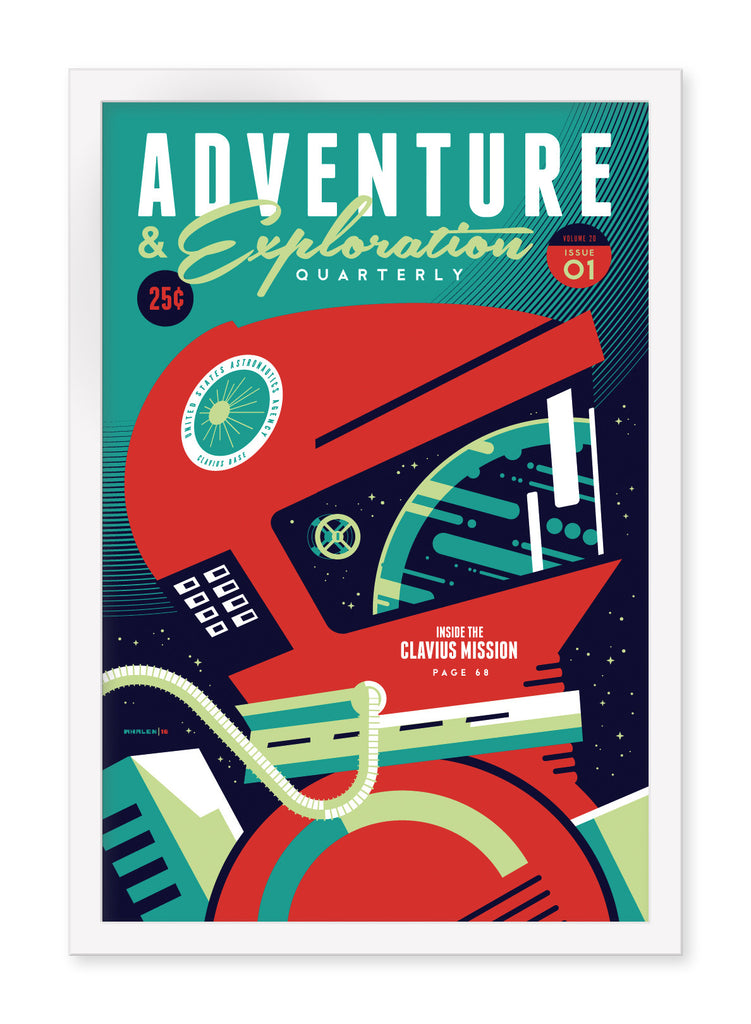 "Tom Whalen - ""Adventure & Exploration"" - Spoke Art"