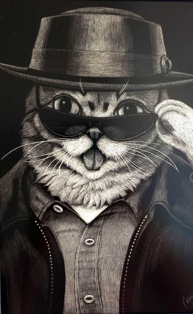 "Craig Tapecat McCudden - ""Heisenbub - The Bad"" - Spoke Art"