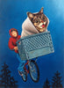 "Isabel Samaras - ""Lil Bub's Moonlight Ride"""