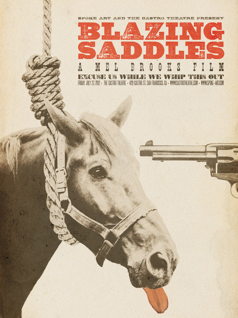 "Brandon Schaefer - ""Blazing Saddles"" - Spoke Art"