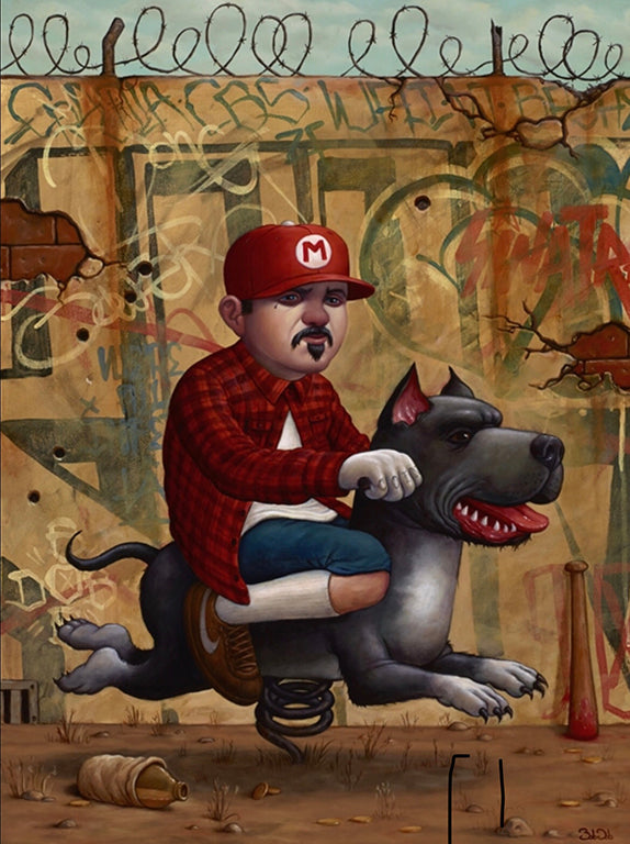 "Bob Dob (Collaboration with Greg ""Craola"" Simkins) - ""Mario Trece"" - Spoke Art"