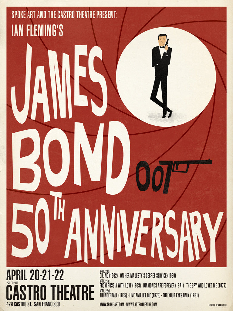"Max Dalton - ""James Bond 50th Anniversary"""