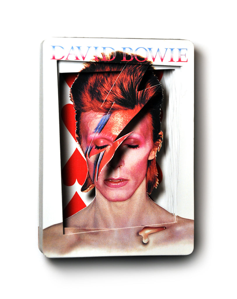 "Dan LeVin - ""Bowie Lonely Heart"" - Spoke Art"