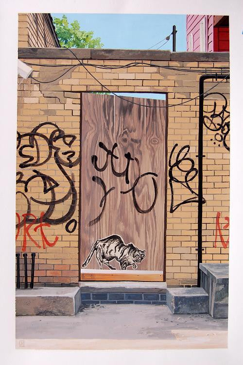 "Jessica Hess - ""Brooklyn Door IV"""