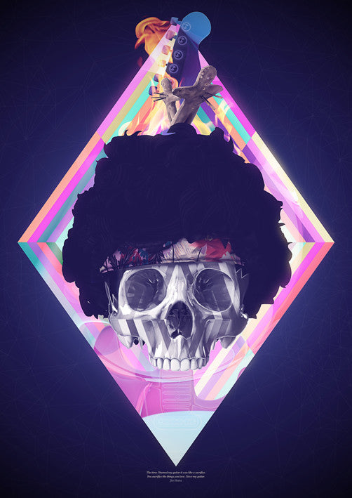 "Ben Thomas - ""Hendrix"" - Spoke Art"
