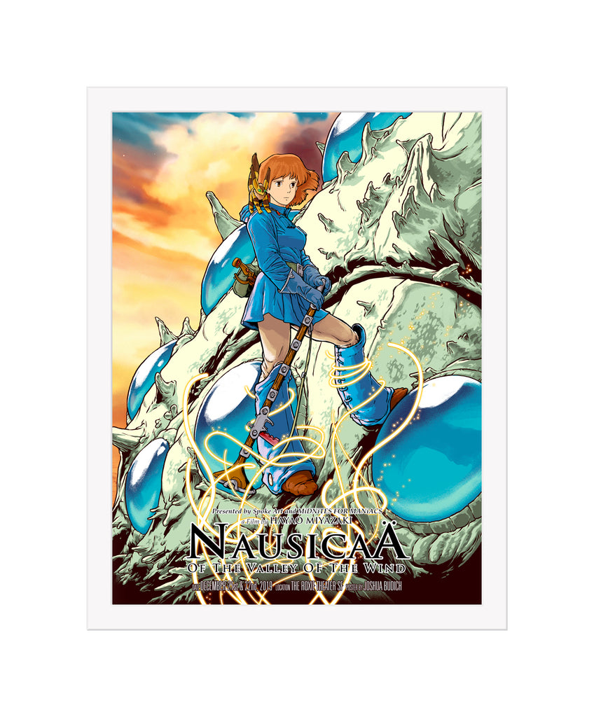 "Joshua Budich - ""Nausicaa of the Valley of the Wind"" 2019 - Spoke Art"