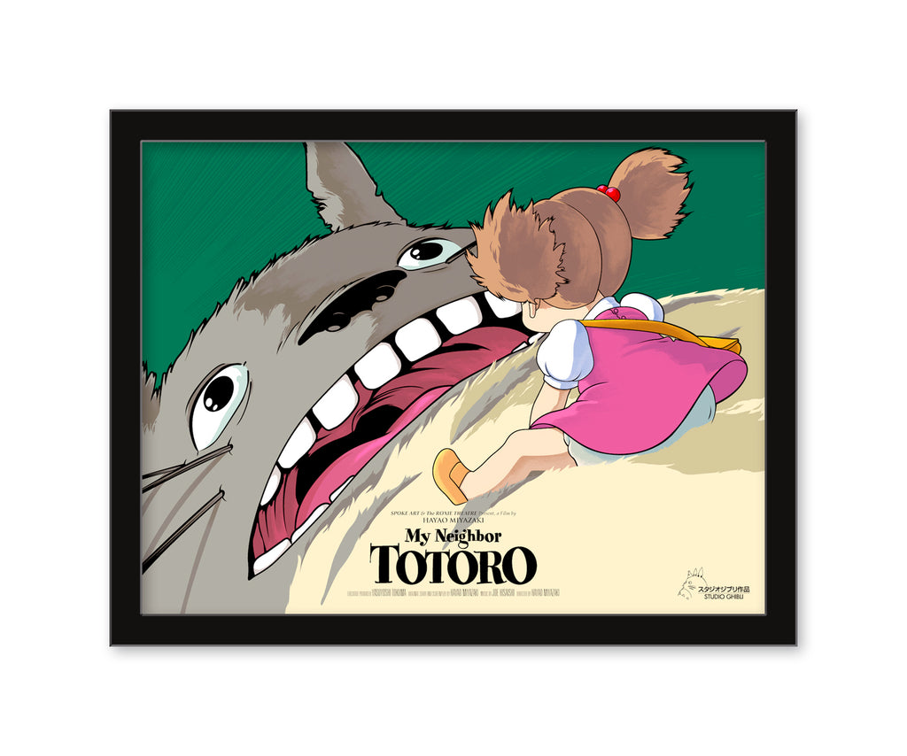 "Joshua Budich - ""My Neighbor Totoro"" 2019 - Spoke Art"