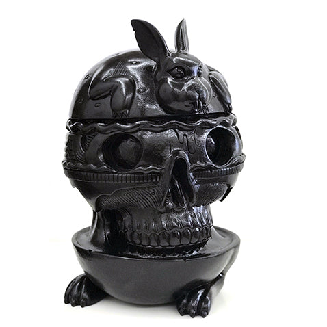 "Jeremy Fish - ""Bunny Burger Skull"""