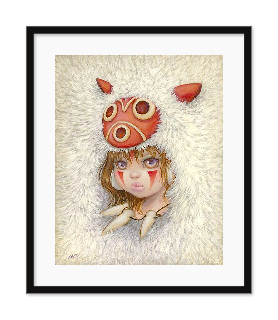 "Camilla d'Errico - ""Like Mother, Like Daughter"" Hand-Embellished Print"
