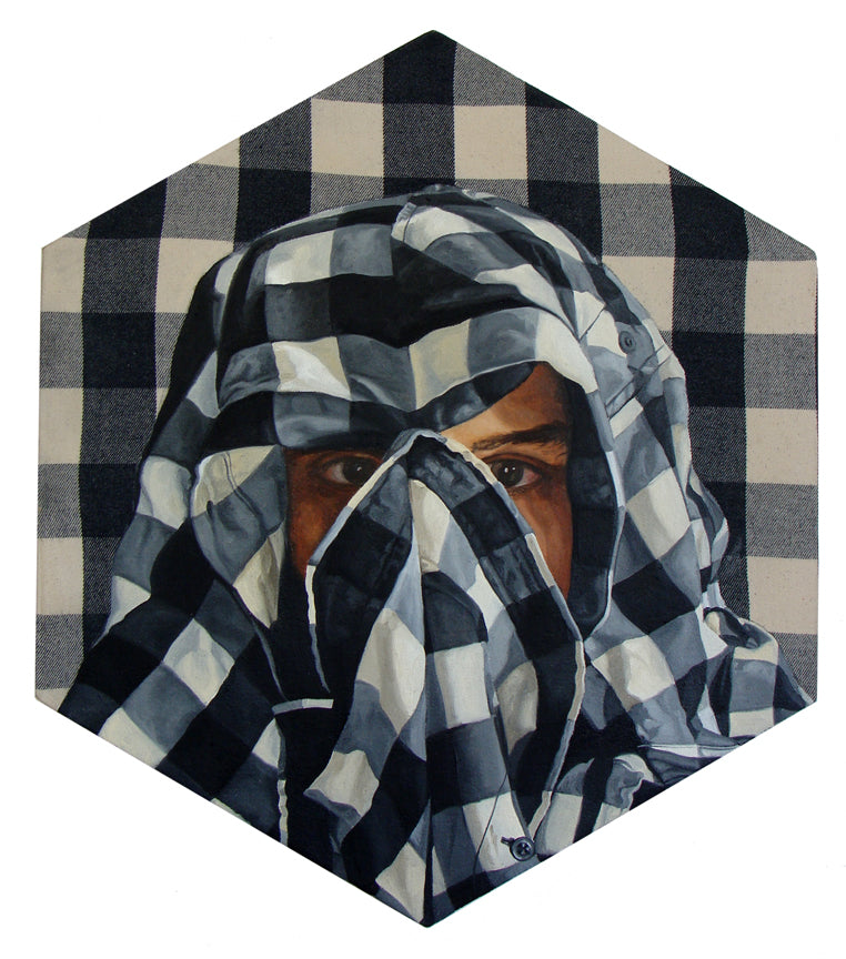 "Peter Adamyan - ""Camouflage White Flannel"" - Spoke Art"