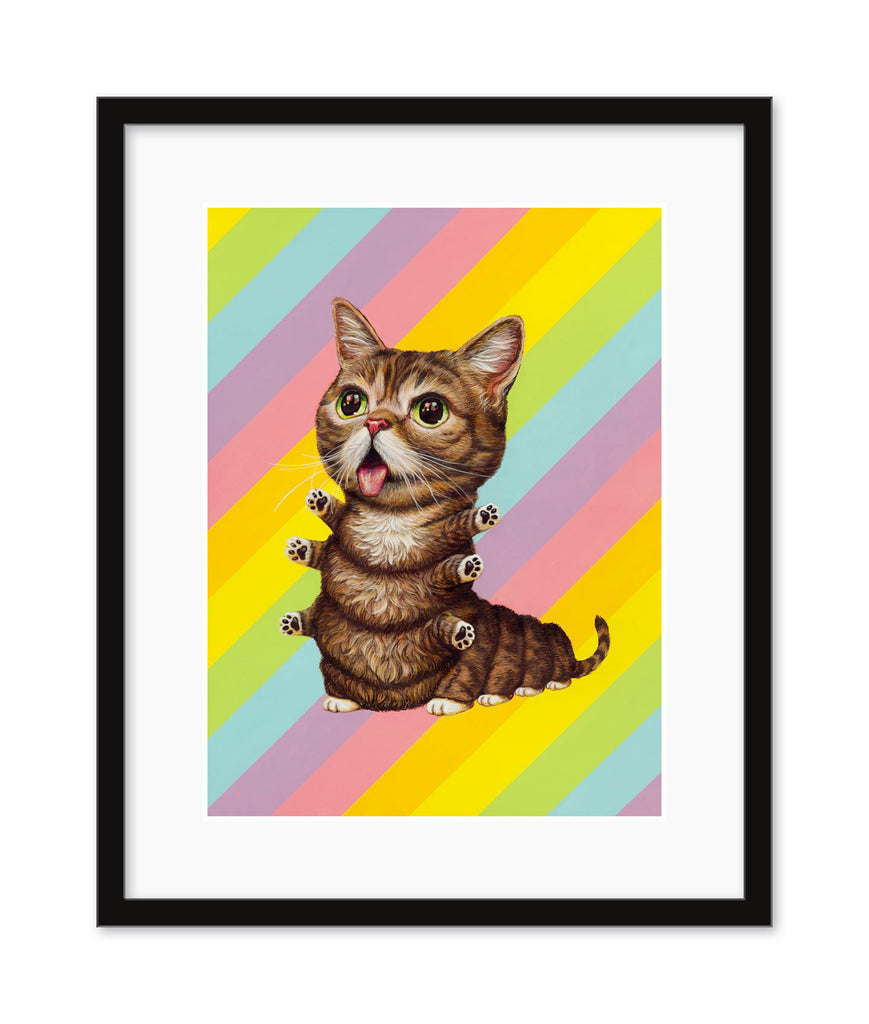 "Casey Weldon - ""Lil Bub Kittypillar"" - Spoke Art"