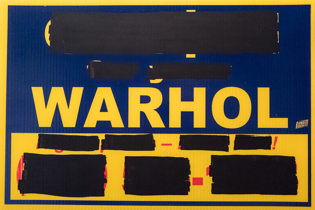 "Cash For Your Warhol - ""CFYW Higher-Prices (redacted)"" - Spoke Art"