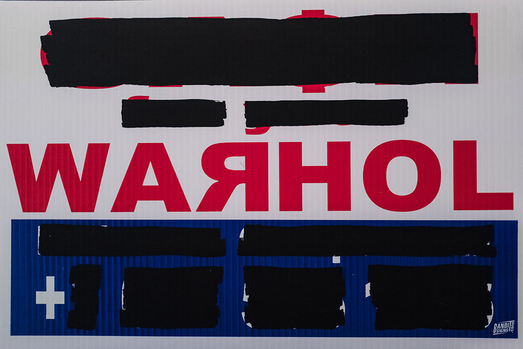 "Cash For Your Warhol - ""Russian (redacted)"""