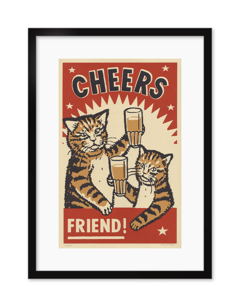 "Arna Miller & Ravi Zupa - ""Cheers"" - Spoke Art"