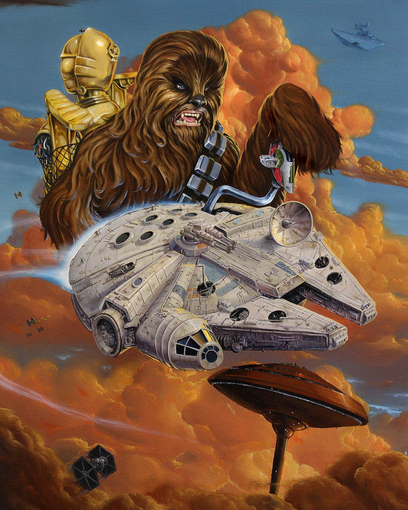 "Jonathan Bergeron - ""Escape From Cloud City"" - Spoke Art"