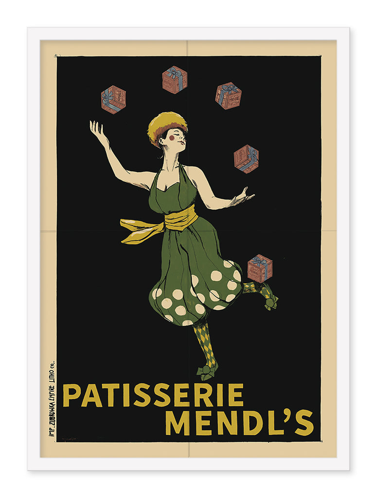 "Chris Walker - ""1932 Mendl's Advertising Poster"""