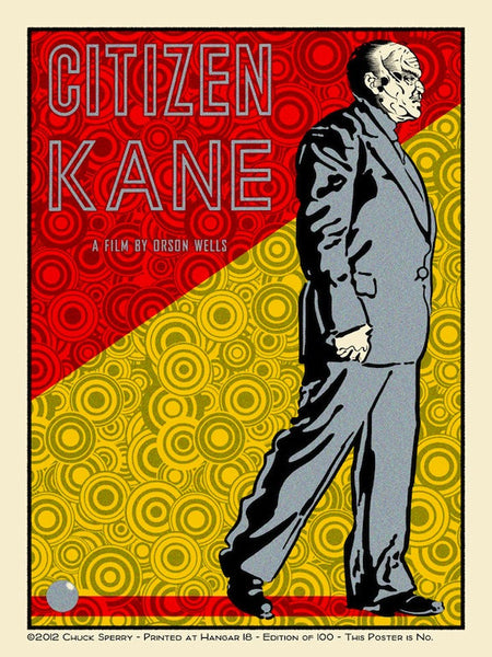 "Chuck Sperry - ""Citizen Kane"""