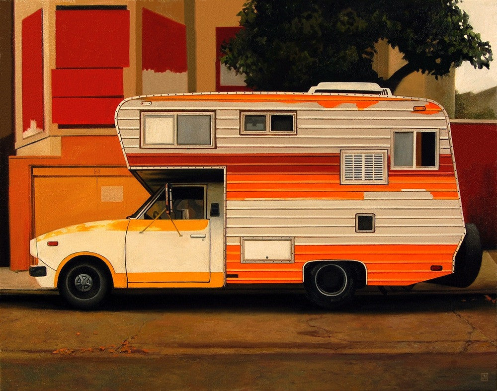 "Jessica Hess - ""Citrus Camper"" - Spoke Art"