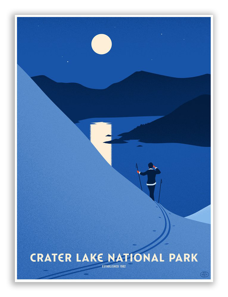 "Thomas Danthony - ""Crater Lake National Park"" - Spoke Art"