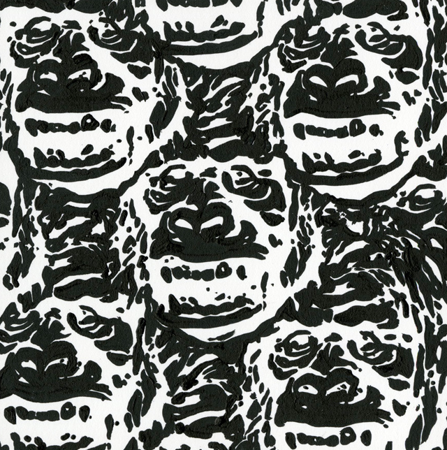 "Steve Seeley - ""Gorilla Pattern #1"" - Spoke Art"