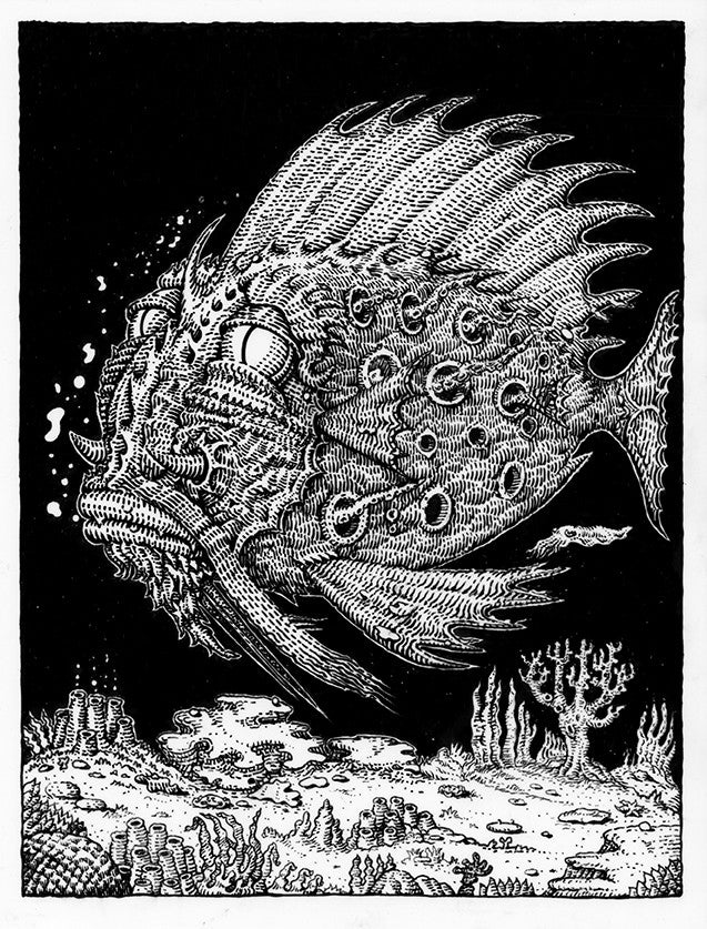 "David Welker - ""Passenger Fish"" - Spoke Art"