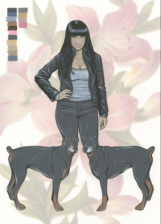 "Steve Seeley - ""Nicki Minaj w/ dog legs"""