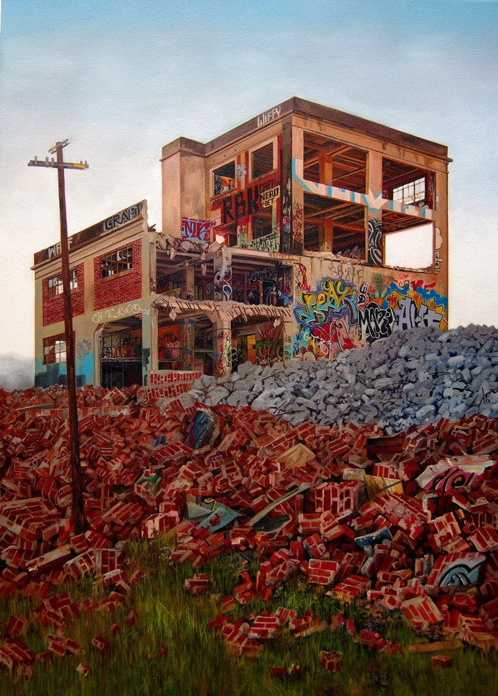 "Jessica Hess - ""Demolition Day"""