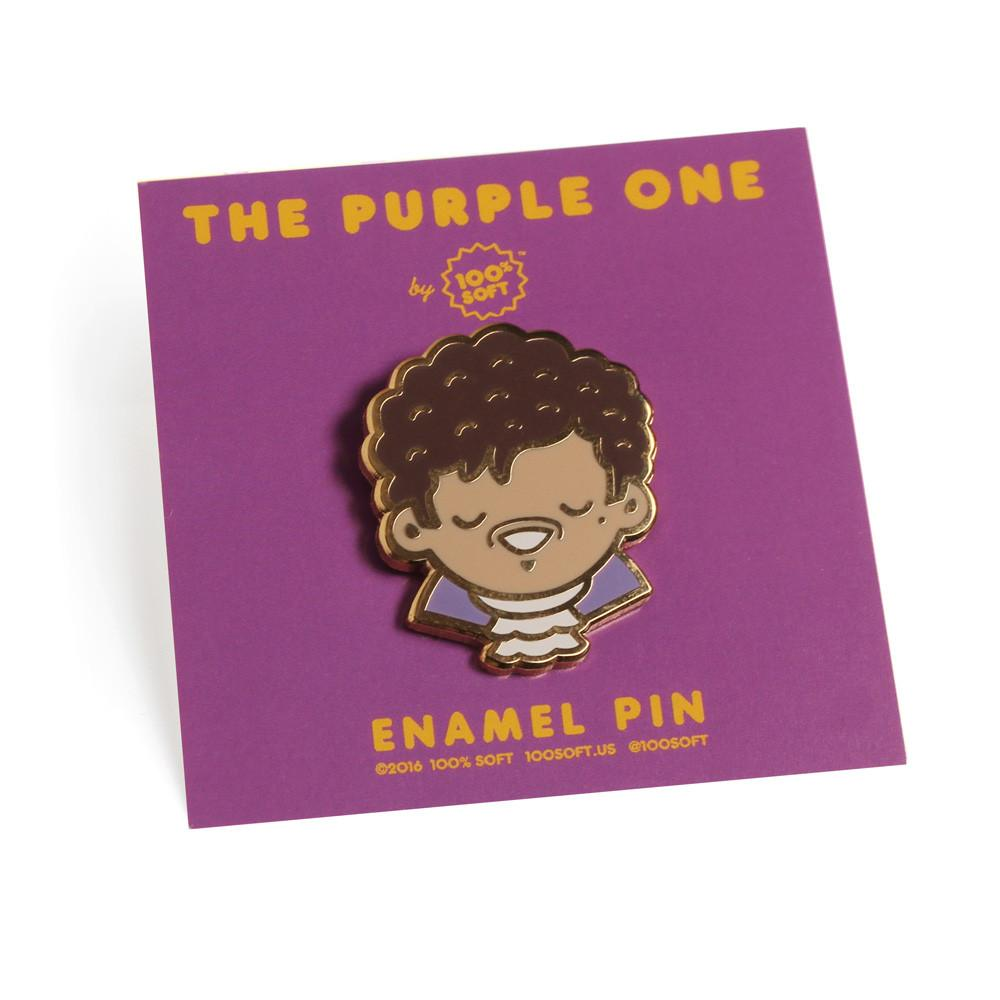 """The Purple One"" Enamel Pin"