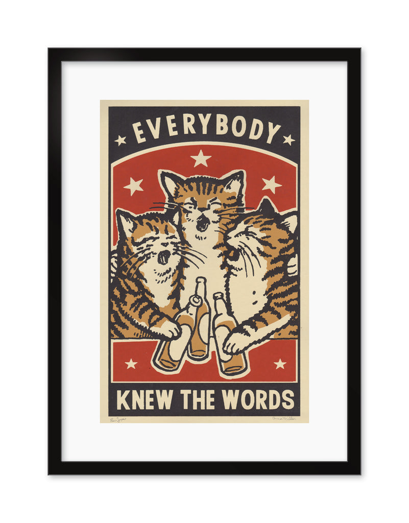 "Arna Miller & Ravi Zupa - ""Everybody Knew The Words"" - Spoke Art"